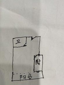 (西部)中山绿洲-东区1室1厅1卫