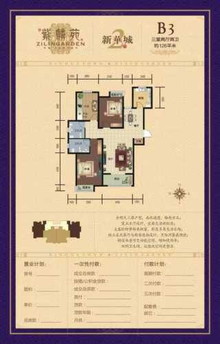 特价准现房5000一平,新华城129平,三居室,包更名!